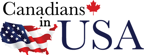 Canadians in U.S.A. logo
